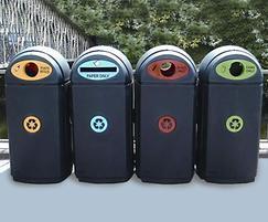 Eco-Bin outdoor recycling bins