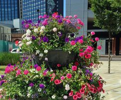 Amberol: Self-watering planters for Britain in Bloom