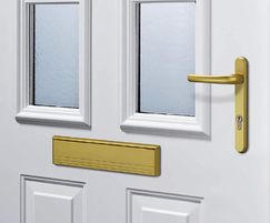 ThermoPro front entrance doors, classic steel