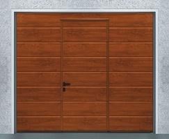 Sectional garage door