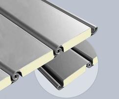 HR 116 double skinned industrial roller shutter