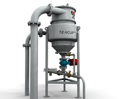 TeaCup® grit removal system