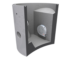 Hydro-Brake® Optimum concrete chamber