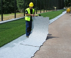 Shock Pad Underlay is easy to handle and install