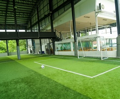 Shock Pad Underlay can be used under sports surfaces