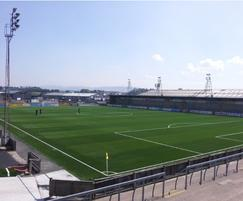 Forfar Athletic all-weather football pitch