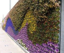Pixel-Garden used to create colourful flower display