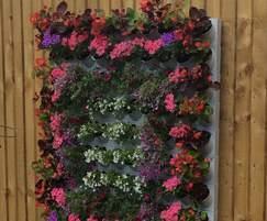 Pixel-Garden – exhibition wall display