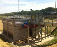 PCMF Stainless Steel Tank Installation
