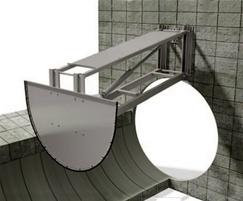 Channel flushing gate CF