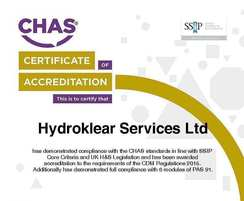 Hydroklear Services: Hydroklear receives CHAS Premium Plus certification