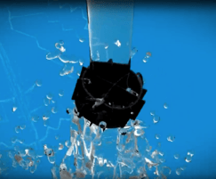 Biopipe 600m²/m³ allows water to freely pass through