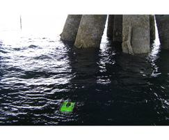 ROV survey of a jetty