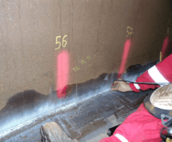 Inspection of welds
