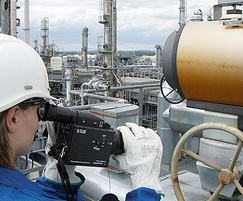 FLIR cameras use optical gas imaging to detect leaks