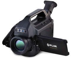 FLIR GFx320 infrared camera for detecting gas emissions