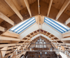 Kerto-S LVL beams for roof purlins