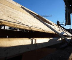 Kerto-Q LVL roof panels