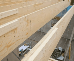 Kerto-QP LVL roof beams