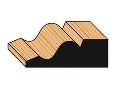 Ogee decorative timber architraves