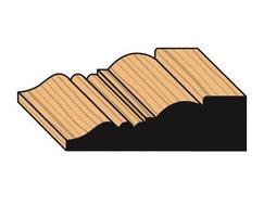 Regency decorative timber architraves