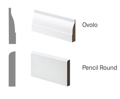 Skirting board examples profiles