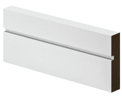 PSE and grooved MDF architrave