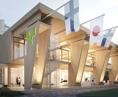 Metsä Wood UK: Metsä pavilion for 2020 Olympic Games in Tokyo