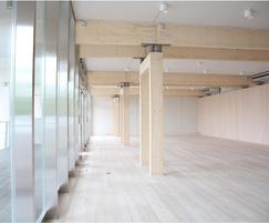 Interior of Metsa Pavilion in Tokyo