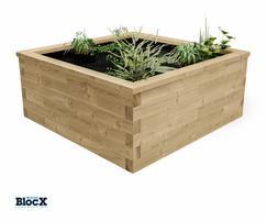 WoodBlocX Raised Bed Visualisation