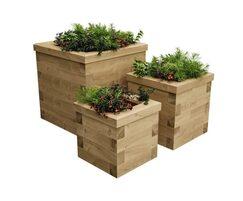 WoodBlocX Novar timber planter