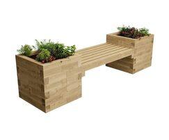WoodBlocX Fyrish planter bench