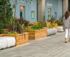 Timber planters for retail application