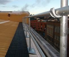 Kee Safety Limited: Rooftop walkway protection from Roof Edge Fabrications