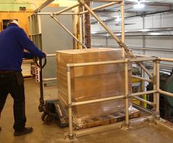 Kee Safety: Kee Safety takes pallet gates to new heights