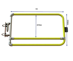 Kee Gate industrial self-closing single safety gate