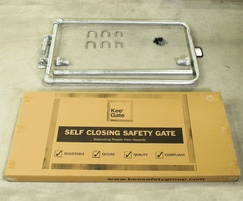 Kee Gate industrial self-closing safety gate kit