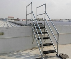 Step Over platform - modular, durable design