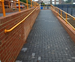 Kee Access DDA handrail at Staines train station