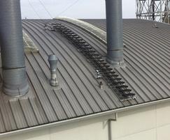 Kee Walk rooftop walkway on barrel roof