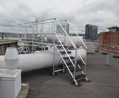 KEE WALK® step-over give safe access across pipework