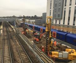 Keller undertakes CFA piling at Twickenham Station