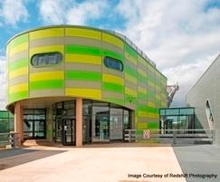 Kingspan Insulated Panels: Kingspan AWP creates striking effect at Castle College
