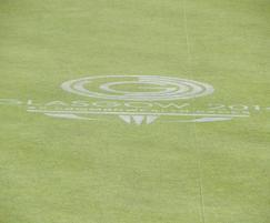 Glasgow 2014 lawn bowls green