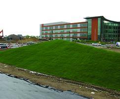 Grassfelt™ sculptural mounds, M4 junction