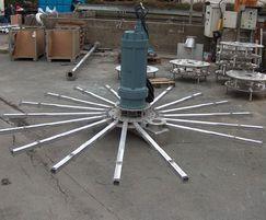AQUA TURBO® AER-SB (L) submersible aerator for SBRs