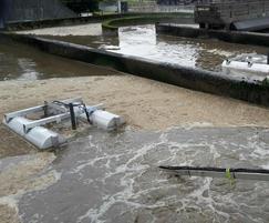 Aqua Turbo® MIX-SL floating mixers for Scottish Water