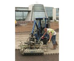 Installation of Priora permeable paving