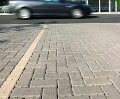 Priora permeable concrete block paving
