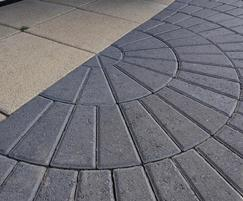 Marshalls Keyblok Circles Charcoal 8202